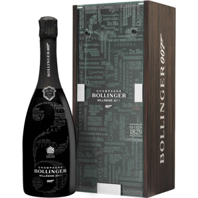 Bollinger 007 Limited Edition Millesime 2011 James Bond 750 Ml In Geschenkverpackung
